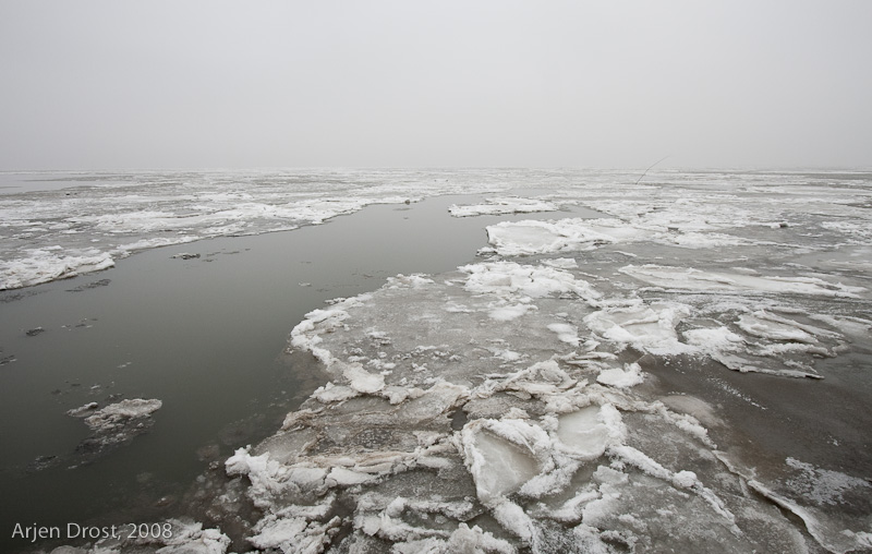 Wadden Sea ice - Waddenzee ijs
