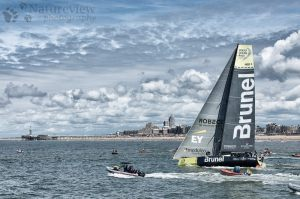 Team Brunel in the Volco Ocean Race
