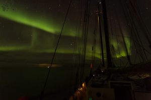 Northern lights from the Noorderlicht